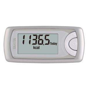 歩数計 活動量計 タニタ スマホ連動 アプリ Bluetooth対応 カロリズム シルバー