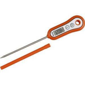 料理用温度計 調理用温度計 タニタ 食品 液体 揚げ物 水温 個体 オレンジ|kanaemina