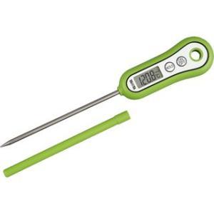 料理用温度計 調理用温度計 タニタ 食品 液体 揚げ物 水温 個体 グリーン|kanaemina