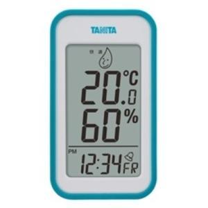 温度計 湿度計 タニタ デジタル温湿度計 ブルー|kanaemina