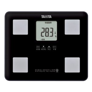 体重計 体脂肪計 内臓脂肪 タニタ デジタル 体組成計 ブラック|kanaemina