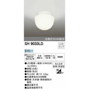 バスルームライト お風呂の照明器具 浴室照明 LED 壁面天井兼用 オーデリック|kanaemina