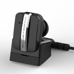 イヤホンマイク Bluetooth ワイヤレス 極小 小型 充電クレードル付き iPhone対応 片耳用 左右兼用|kanaemina