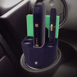 アイコス充電器 IQOS専用ホルダー 本体 ホルダー 卓上 車載用 オールマイティスタンド|kanaemina