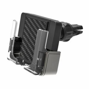 スマホホルダー スマホスタンド 車載用 手帳型ケース対応 エアコン送風口 吹き出し口 縦置き 横置き 両用|kanaemina