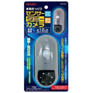 防犯カメラ 監視カメラ ダミー SD1000 本物そっくりのダミーカメラ 乾電池式|kanaemina