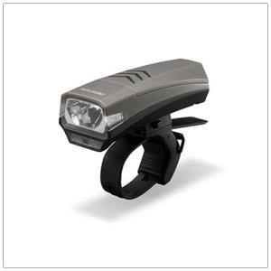 自転車用ヘッドライト LED バイクライト ジェントス 150lm USB充電式 ブラック|kanaemina