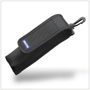懐中電灯用収納ケース ジェントス フラッシュライト用ポーチM ベルト通し付き|kanaemina