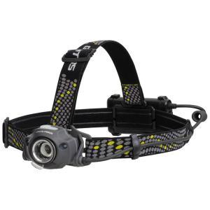 ヘッドライト ヘルメット照明器具 作業用 400ルーメン 乾電池式 耐塵防滴IP64 センサー付き|kanaemina
