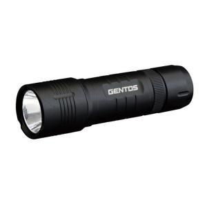 ハンドライト 懐中電灯 ジェントス LEDハンディトーチランプ 乾電池式 防塵防滴 140ルーメン|kanaemina