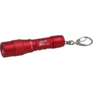 キーライト ミニライト LED 小型 懐中電灯 ジェントス 防塵防水IP64 シンプル おしゃれ レッド|kanaemina