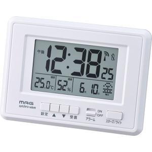 電波時計 置き時計 掛け時計 両用 デジタル シンプル おしゃれ 目覚まし時計|kanaemina