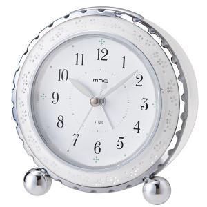 目覚まし時計 アラームクロック 置き時計 おしゃれ 可愛い 連続秒針 ライト スヌーズ kanaemina