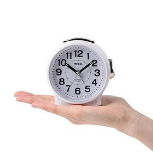 ■商品説明 年齢層を問わず使用できるシンプルなデザイン目覚まし時計 手のひらサイズの小型、ミニタイプ...