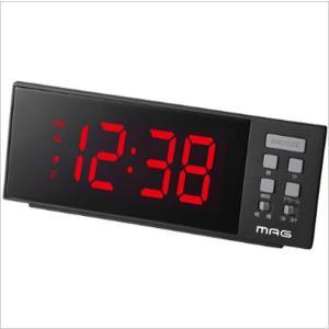 置き時計 目覚まし時計 アラームクロック USBポート付き デジタル おしゃれ インテリアクロック|kanaemina