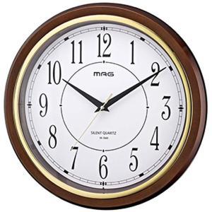 壁掛け時計 掛け時計 アナログ シンプル おしゃれ ブラウン オフィス リビング kanaemina