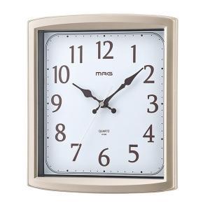 壁掛け時計 置き時計 アナログ シンプル 置き掛け兼用 連続秒針 スタンド|kanaemina
