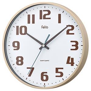 壁掛け時計 アナログ ウォールクロック チュロス アイボリー 北欧 おしゃれ かわいい|kanaemina