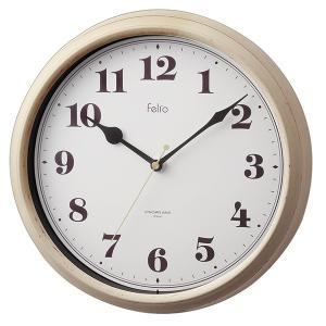 壁掛け時計 アナログ 電波時計 レトロ おしゃれ フレンチシャビー アイボリー|kanaemina