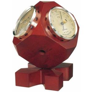 気圧計 温度計 湿度計 トリオインテリア気象計 卓上型