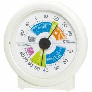 温湿度計 温度計 湿度計 快適ゾーン アナログ 生活管理温湿度計|kanaemina