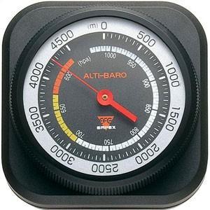 高度計/気圧計 アナログ式 薄型/コンパクト