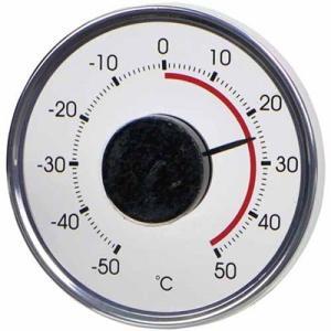 温度計 アナログ 室外用 屋外用 ウィンドサーモ 窓用|kanaemina
