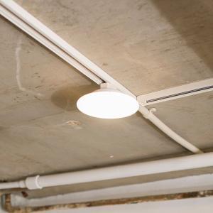 シーリングライト LED 小型 ミニ 薄型 天井照明器具 直径16.5cm 電球色|kanaemina