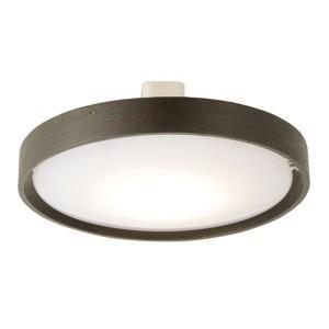 シーリングライト LED 小型 ミニ 薄型 天井照明器具 直径18.6cm おしゃれ 木製フレーム ブラウン 電球色|kanaemina