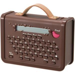 テプラ こはる 本体 茶色 マスキングテーププリンター ラベルライター|kanaemina