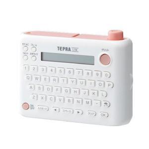 テプラ 本体 Lite ライト ラベルライター LR5 ピンク キングジム|kanaemina