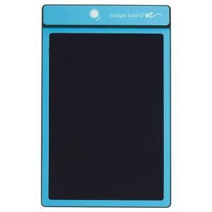 電子メモパッド メモ帳 ブギーボード 青 8.5インチ スタイラス付き ブルー デジタルメモ|kanaemina