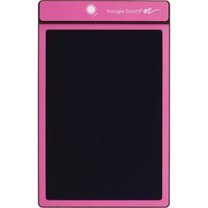 電子メモパッド メモ帳 ブギーボード ピンク 8.5インチ スタイラス付き デジタルメモ|kanaemina