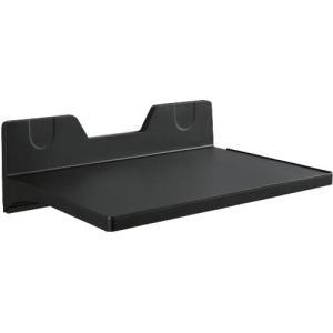 収納棚 壁面マグネット式トレー 壁付け マグトレー 230×320mm ブラック|kanaemina