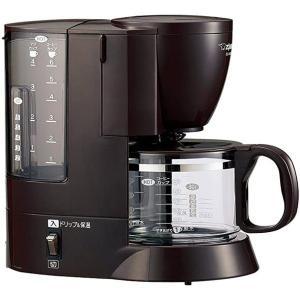コーヒーメーカー 約6杯分 象印 EC-AK60-TD ダー...