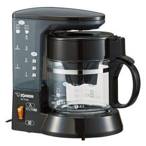 コーヒーメーカー ドリップ式 象印 EC-TC40-TA ブ...