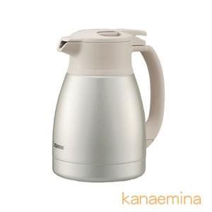 魔法瓶ポット ハンドポット ステンレス 象印 保温 保冷 真空断熱 1.0L シルバー|kanaemina