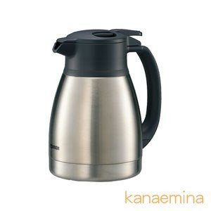魔法瓶ポット ハンドポット ステンレス 象印 保温 保冷 真空断熱 1.0L ステンレス|kanaemina