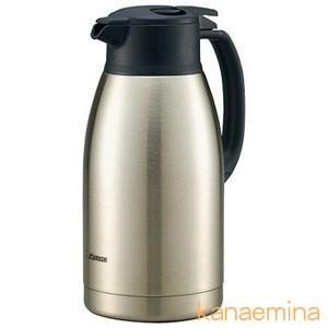 魔法瓶ポット ハンドポット ステンレス 象印 保温 保冷 真空断熱 1.9L ステンレス|kanaemina