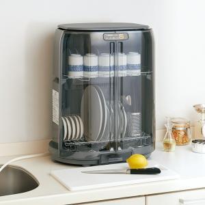 食器乾燥器 食器乾燥機 コンパクト 省スペース 縦型 たて型 排水ロングホース付き 4人〜5人用|kanaemina
