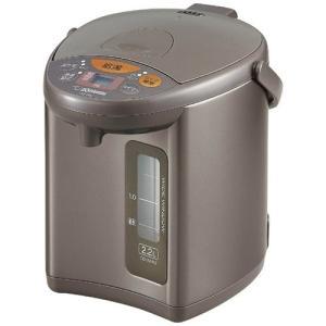 電気ポット 電動給湯ポット 象印 マイコン沸騰 4段階保温機能付き 2.2L メタリックブラウン|kanaemina