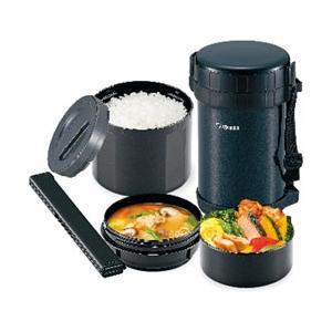 ステンレスランチジャー 象印 大容量/茶碗4杯分 保温弁当箱|kanaemina