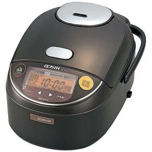 象印 圧力IH炊飯器 炊飯ジャー 極め炊き 黒まる厚釜 5.5合炊き|kanaemina
