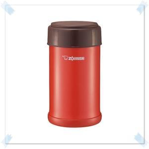 象印 ステンレスクック フードジャー 予熱調理 保温調理 保温 保冷 お弁当箱 トマトレッド 750ml|kanaemina