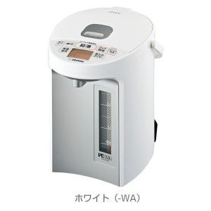 電気ポット 電動給湯ポット 象印 優湯生 マイコン沸騰 魔法瓶保温 コードレス給湯機能付き 3.0L CV-GT30-WA ホワイト|kanaemina