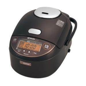 圧力IH炊飯器 象印 炊飯ジャー 極め炊き 5.5合炊き 黒まる厚釜 NP-ZT10-TD ブラウン|kanaemina