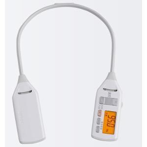 着るラジオ ツインバード 防滴機能 AM FM ワイドFM対応 反射板付き 肩掛け式 ホワイト|kanaemina