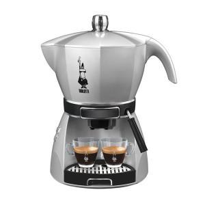電動エスプレッソマシン 電気式コーヒーメーカー ビアレッティ モッキシマ シルバー|kanaemina
