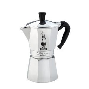 コーヒーメーカー エスプレッソ 直火式 ビアレッティ モカエキスプレス 6カップ 6人用