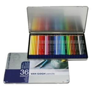 色鉛筆 36色セット ヴァンゴッホ 高品質 高級 色えんぴつ 大人の塗り絵 画材 kanaemina